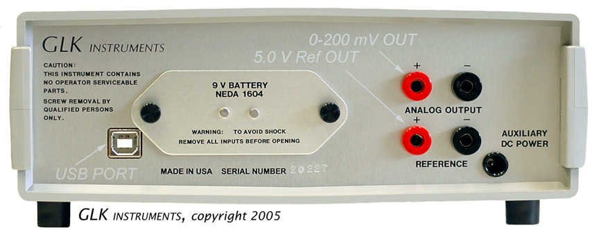 Model 3000 Capacitance Meter With Analog Output And Usb Port
